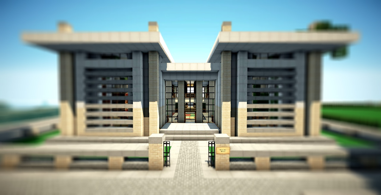 Modern Mansion On World Of Keralis