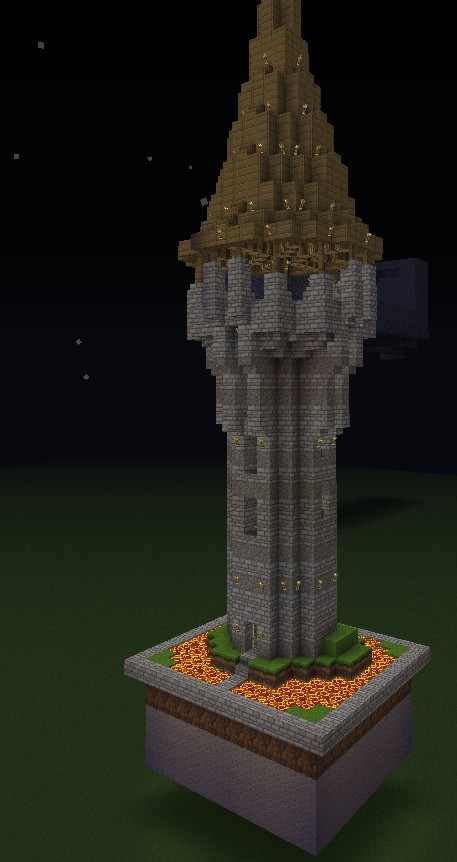 archery tower Minecraf...