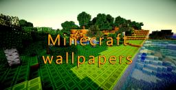 Some Minecraft wallpapers