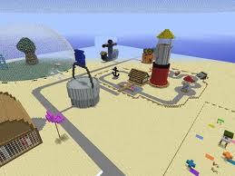 карта в майнкрафте самый большой город спанч боба #1
