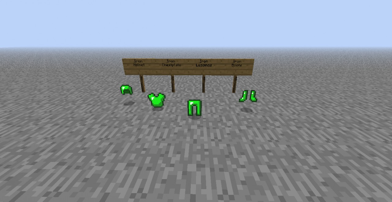 Tools And Armor Color Swap Minecraft Texture Pack