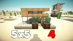 5x5 House 4! Minecraft Project