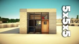 5x5x5 House Minecraft