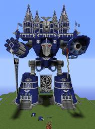 W40K Emperor Titan Minecraft Project