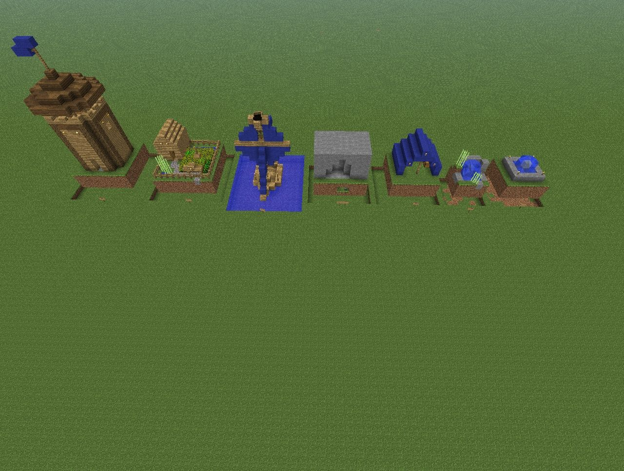 Mini Builds V1 Minecraft Project