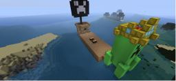 Pirate Ship AND Adventure! Minecraft Map & Project
