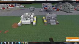 Star trek Type 15 shuttle pod redesign (zeppelin mod compatible) Minecraft