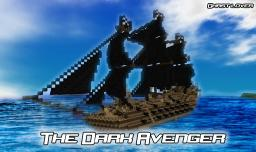 The Dark Avenger - Big Pirate Ship *Download* Minecraft Map & Project