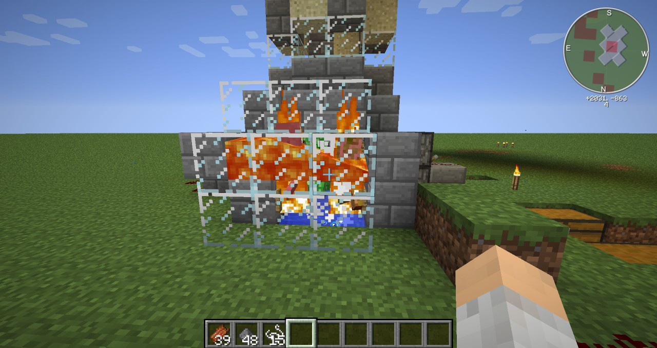 how to make mob traps in minecraft