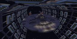 TOS Era Constitution Class Starship Minecraft Map & Project