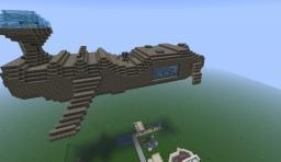 U.F.R Hydra Class Frigate Minecraft Map & Project