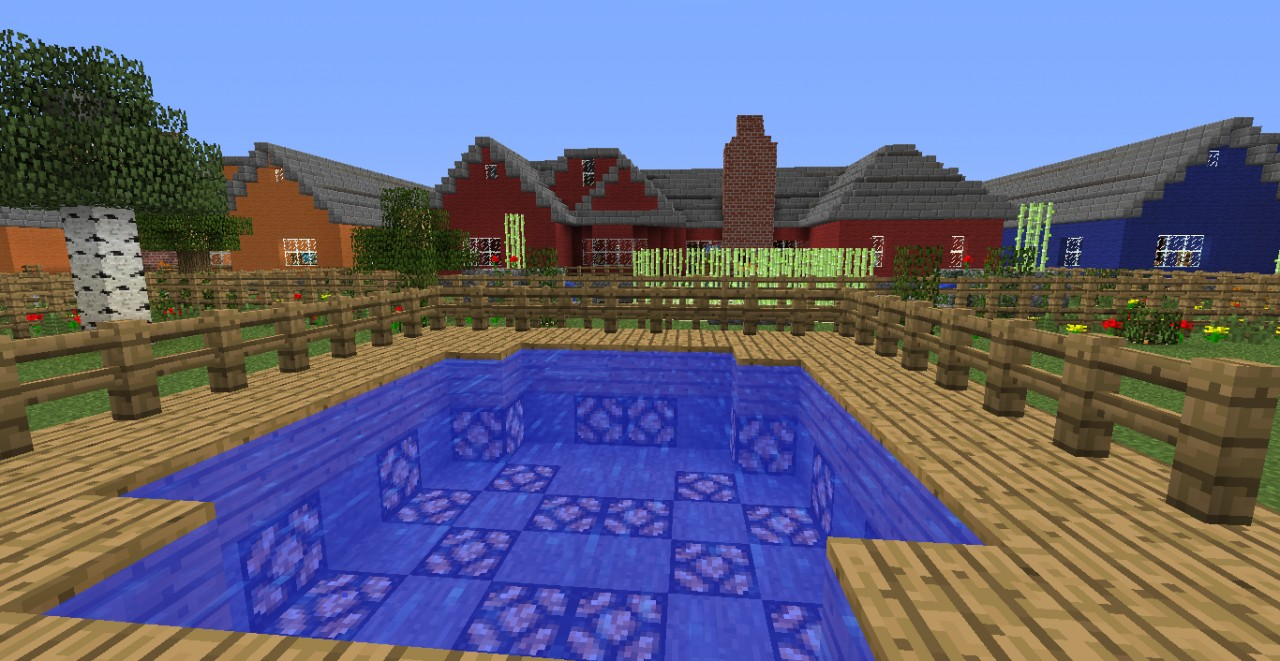 modern day houses minecraft project