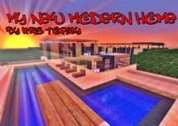 MY NEW MODERN HOME Minecraft Map & Project