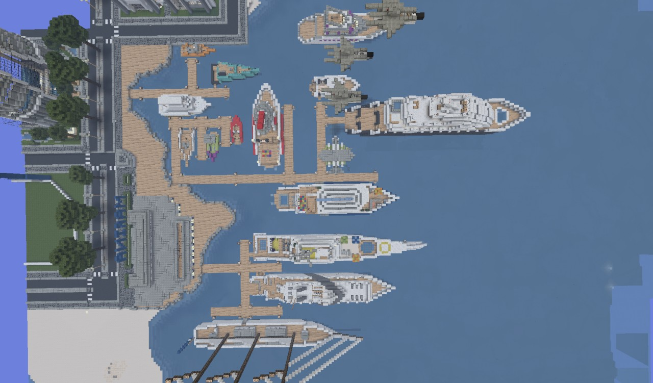 World of keralis marina minecraft project top view gumiabroncs Gallery