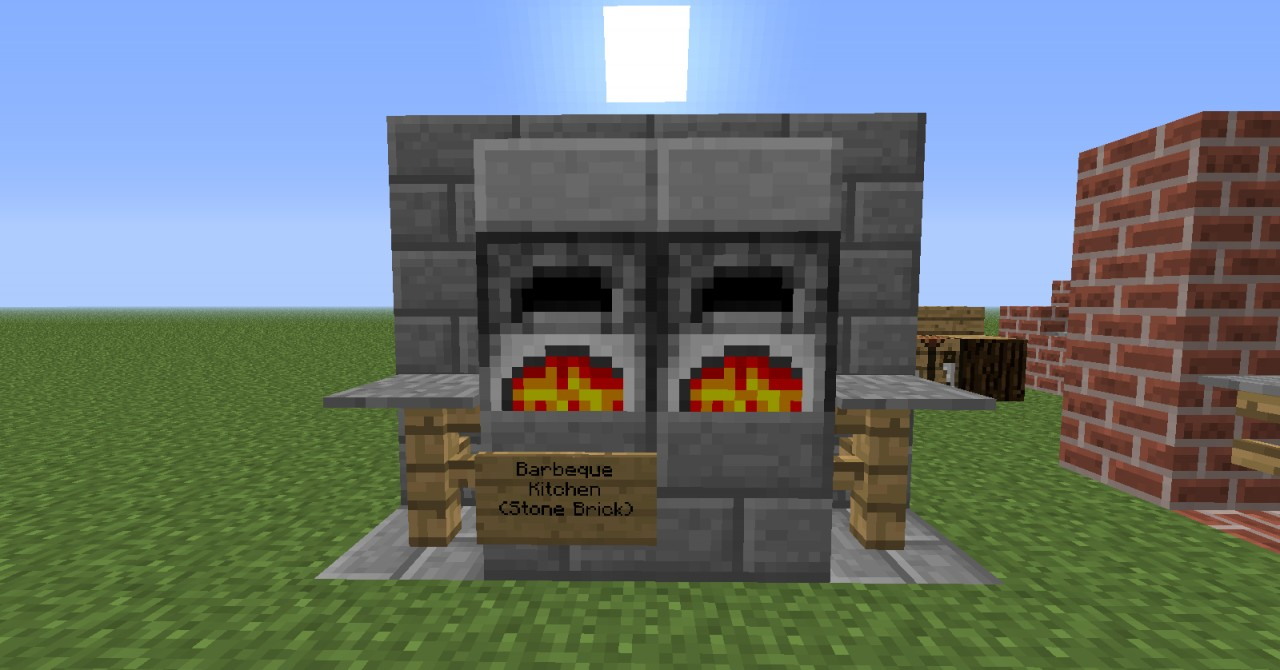 Furniture ideas minecraft project for Kitchen ideas minecraft