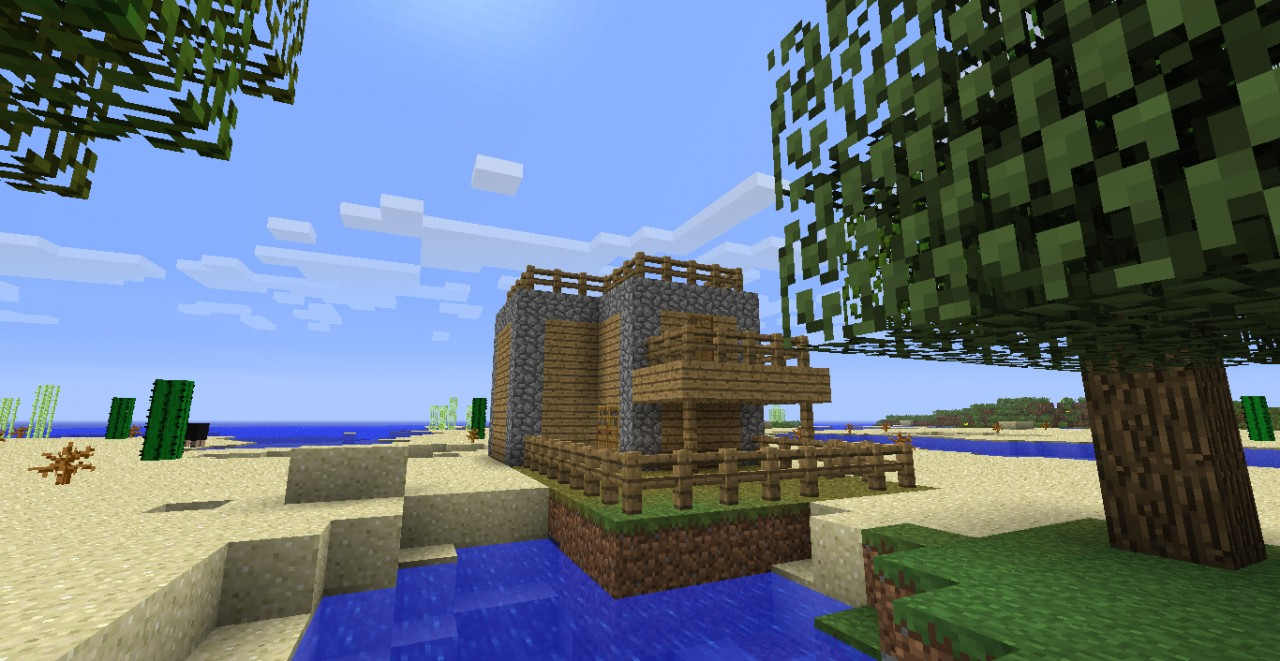 Minecraft Starter Map With House Minecraft Project - Minecraft house map