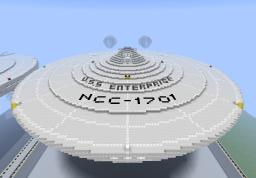 STAR TREK  USS. ENTERPRISE NCC-1701 Minecraft