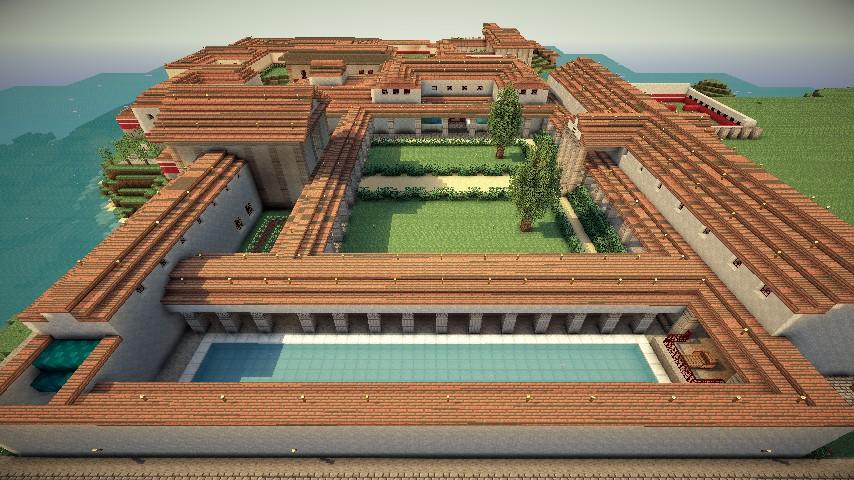Roman Villa Villa Syndexioi World Save Schematic