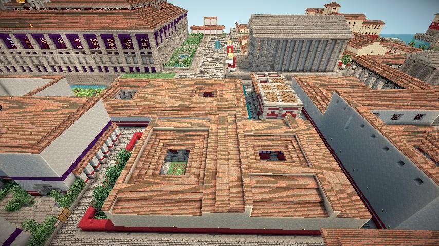 Roman Domus Historically Accurate World Save Schematics