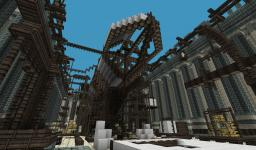 Airship Construction Yard Minecraft