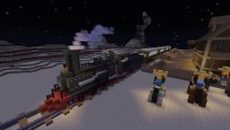 Steam train Minecraft Project