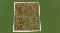 Glowstone Maze Minecraft Project