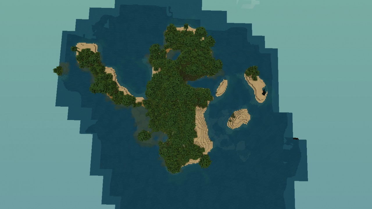 Minecraft Jungle Island Map Download