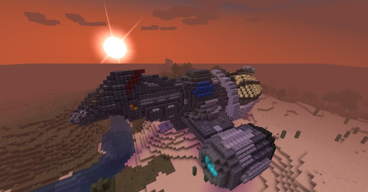 fireflyclass serenity minecraft project
