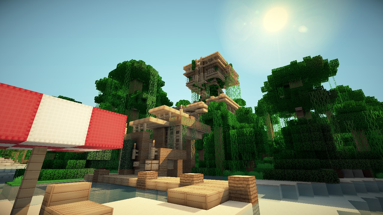 Jungle reehouse by Keralis Minecraft Project - ^