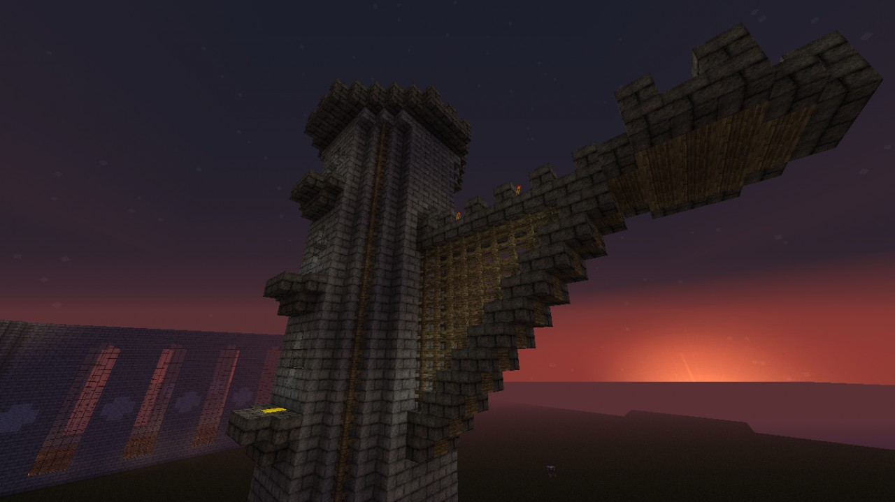 Wizard's Tower - inspired by The Yogscast's Sjin Minecraft ...