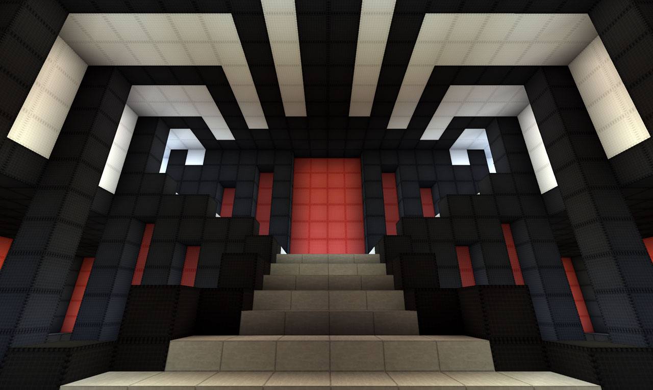 Modern House on World of Keralis Minecraft Project - ^