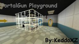 Aperature PortalGun Playground v.1 Minecraft Map & Project
