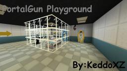 Aperature PortalGun Playground v.1 Minecraft Project