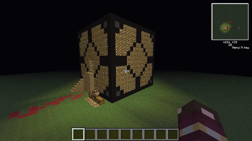 minecraft how to make glowstone lamp