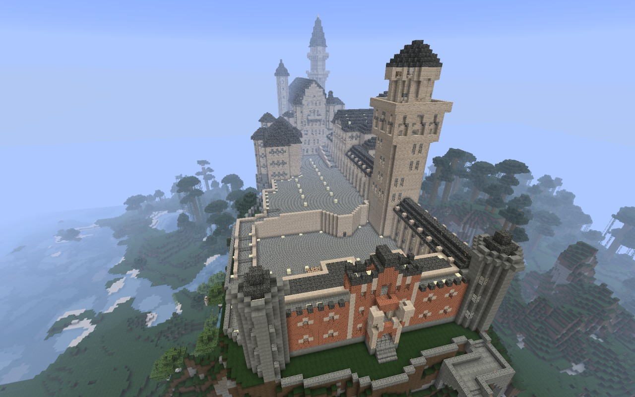 Floor Plans For Castles Lux Arcana Does Castle Neuschwanstein Minecraft Project