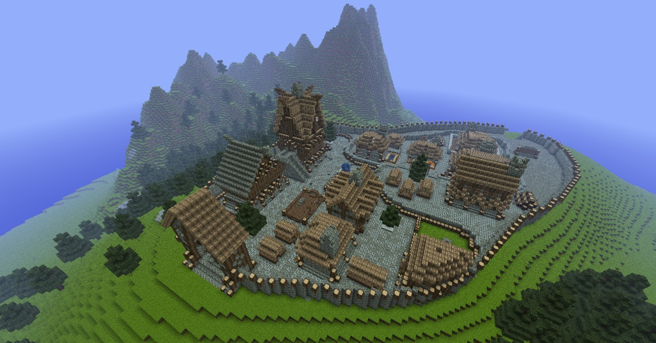 Epic Medieval Map Minecraft Project