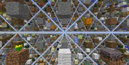 SkyGrid Survival Map (Updated for 1.5) Minecraft Map & Project