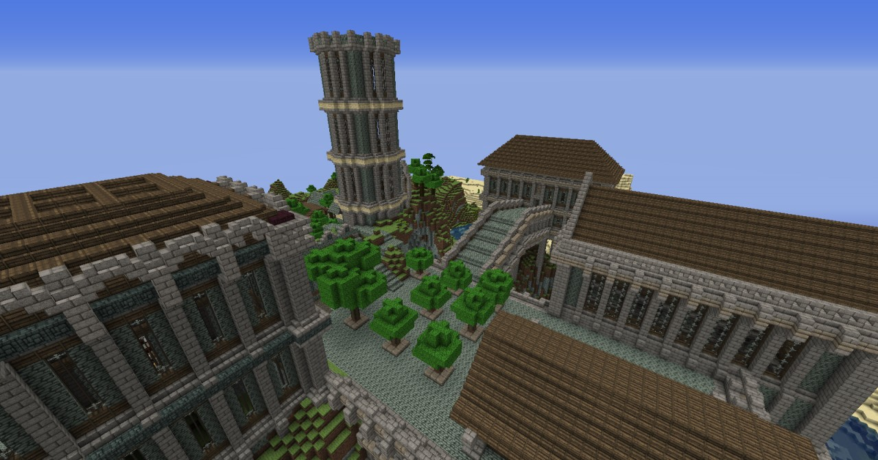 Small fort mini castle minecraft project for Small chateau