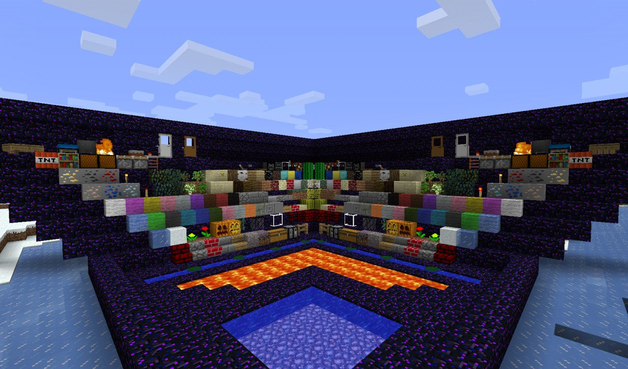 My first texture pack. COOL and easy to use Minecraft Texture Pack