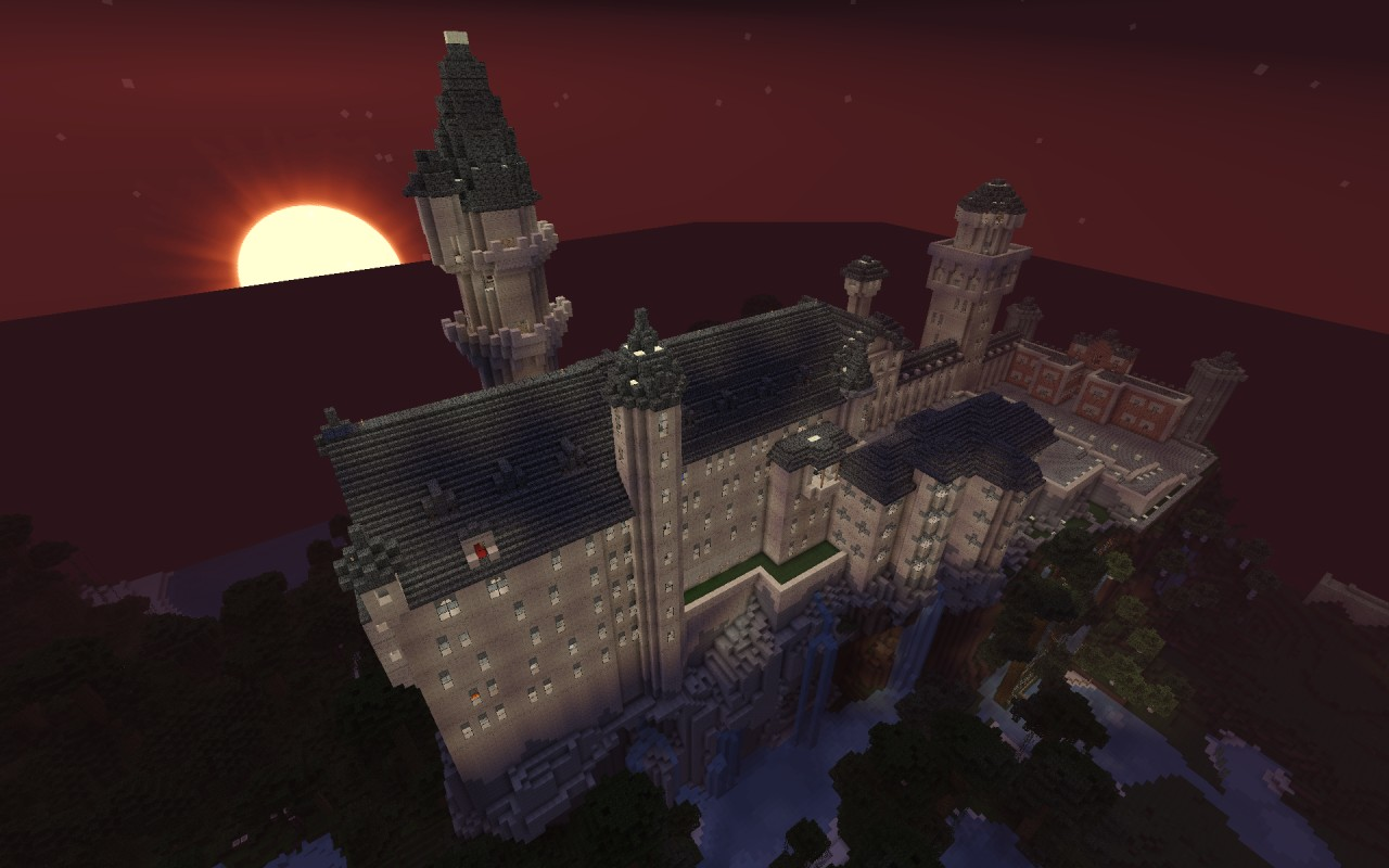 Lux Arcana Does Castle Neuschwanstein Minecraft Project