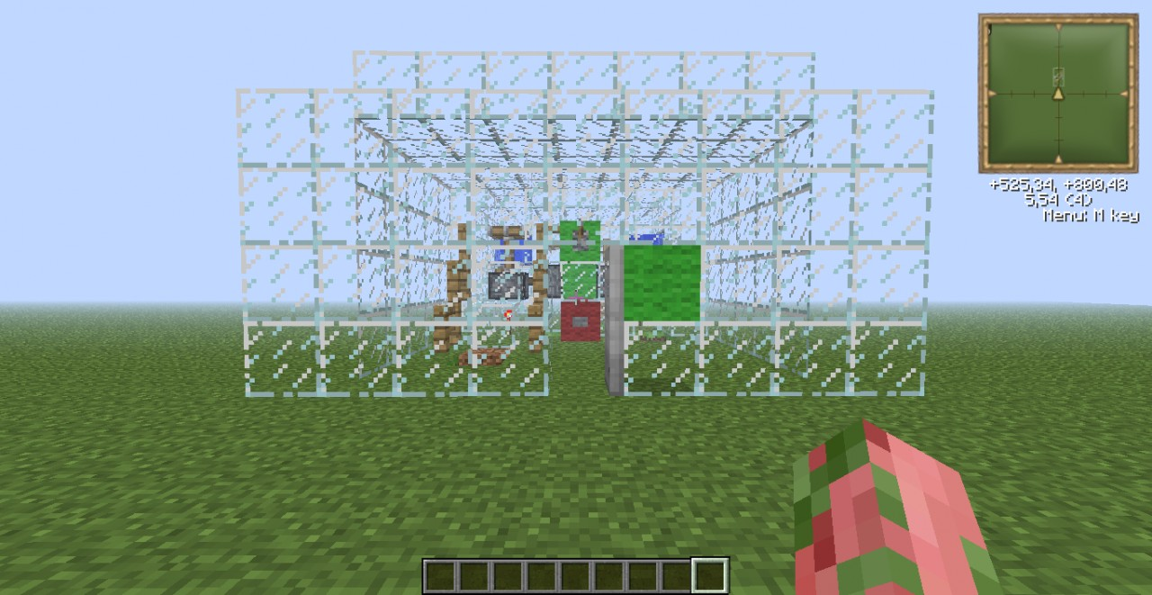 How to make a two player trading system in minecraft