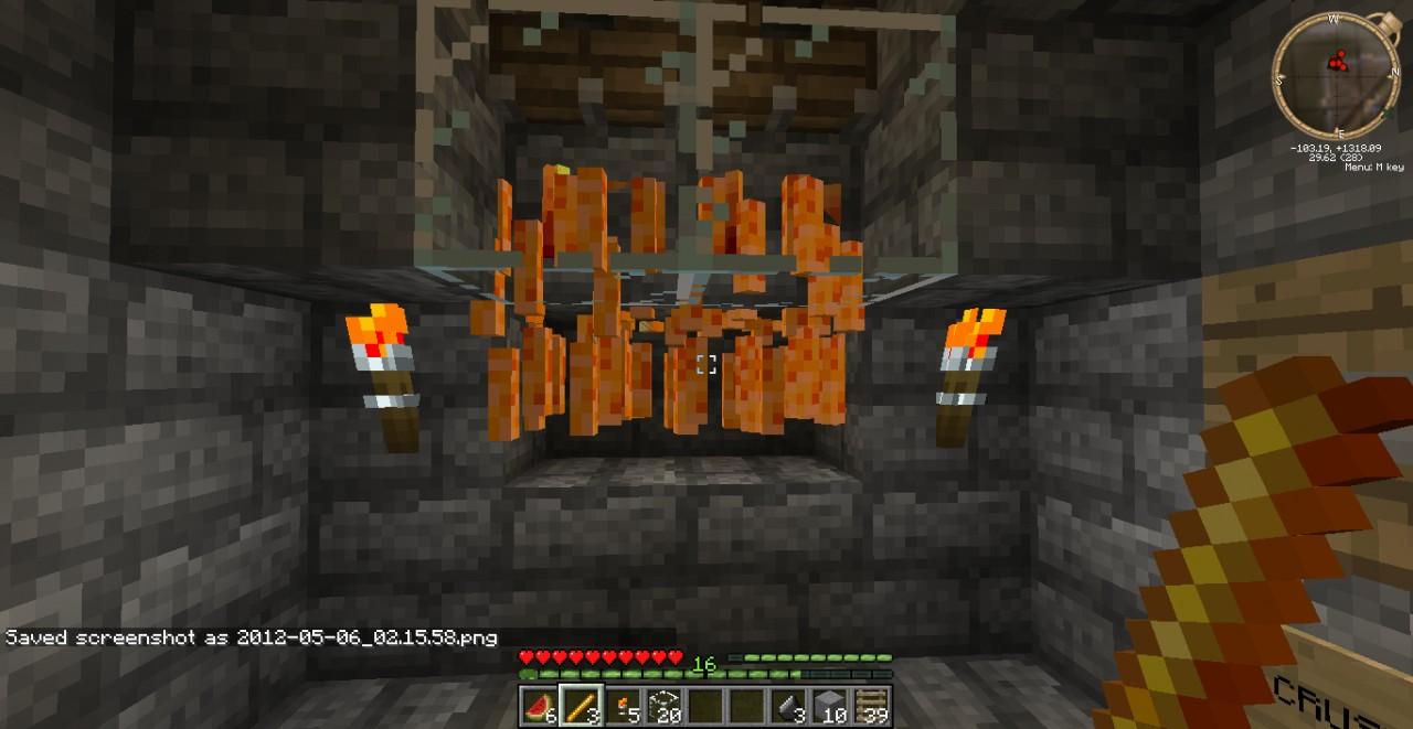 Blaze XP Farm! Minecraft Map