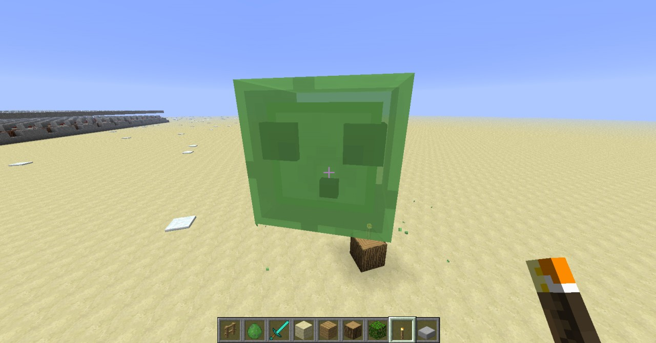 Huge Slimes Minecraft Project