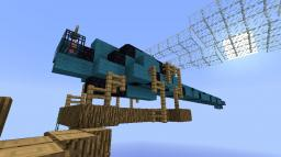 Dragon Fly! (My first organic) Minecraft Map & Project
