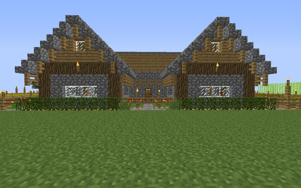 Farmhaus Ranch House Minecraft Project