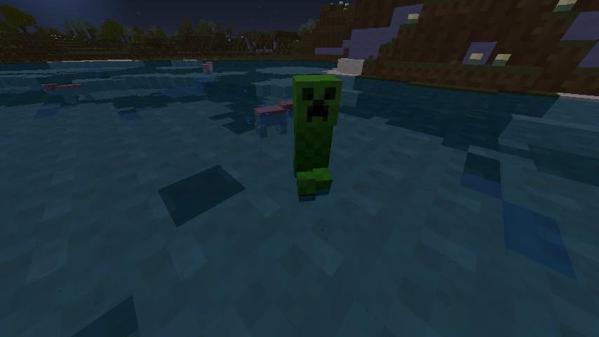 Creeper! { In A Lake}