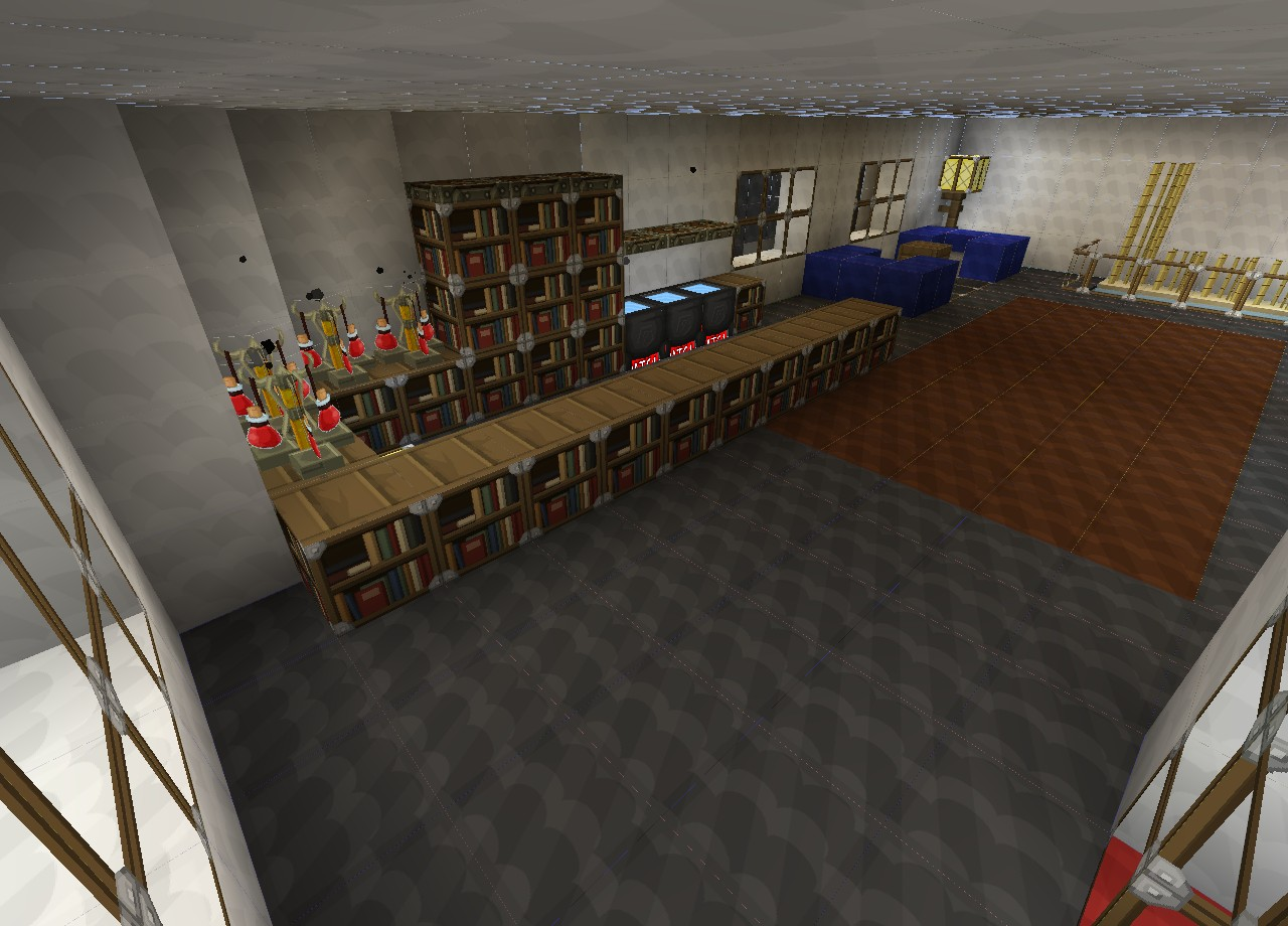 how to build a shopping centre in minecraft