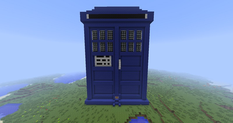 9th10th doctor tardis minecraft project