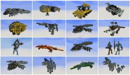 World of AVATAR, Pandora Bundle, 16 objects Minecraft
