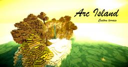 Arc Island-Custom terrain [No caves/ores] WITH DOWNLOAD Minecraft Map & Project